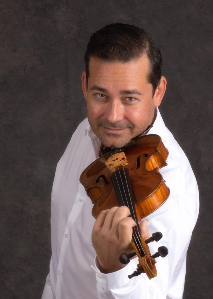Concertmaster Marcus Ratzenboeck The Venice Symphony